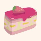 Decorating cake theme elements vector,eps10 Stock Photo