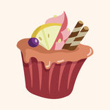 Decorating cake theme elements vector,eps10. Vector illustration file Stock Image