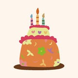 Decorating cake theme elements vector,eps10 Royalty Free Stock Images