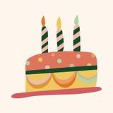 Decorating cake theme elements vector,eps10 Stock Photography