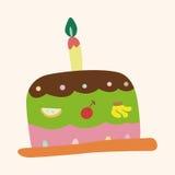 Decorating cake theme elements vector,eps10 Royalty Free Stock Photo