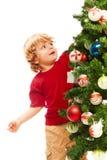 Decorating Christmas Royalty Free Stock Photo