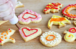 Free Decorating Cookies Royalty Free Stock Images - 13197039