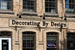 Decorating By Design Exterior Royalty Free Stock Image