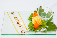 Decorating desserts and food Royalty Free Stock Image