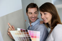Decorating home Royalty Free Stock Photography