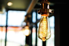Decorating light, decoration concept store or web site.  royalty free stock photography
