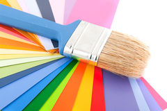 Decorating and painting Royalty Free Stock Images