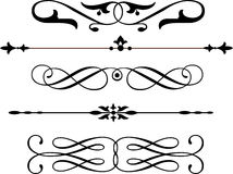 Decoration. S. Black and White color very very clean ready to re-use Royalty Free Stock Photo