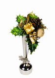 Decoration. Gift decoration on a white background with an isolation Royalty Free Stock Photography