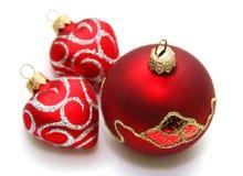 Decoration. Christmas decoration isolated on white Stock Photography