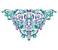 Decoration abstract ornament illustration of heartdecoration abstract ornament illustration of mandala vector illustration