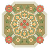 Decoration abstract ornament illustration of mandala royalty free illustration