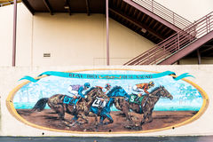 Decoration of the Alameda County Fairgrounds Stock Images