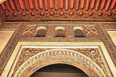 Decoration of Alcazar in Seville Stock Photos