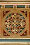 Decoration on the altar of Saints Stephen, Ladislaus and Emeric in Zagreb cathedral Royalty Free Stock Photos