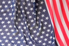 Decoration in american flag style Royalty Free Stock Photo