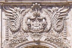Decoration Arc de Triomphe, Λισσαβώνα Πορτογαλία Στοκ φωτογραφία με δικαίωμα ελεύθερης χρήσης
