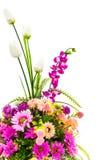 Decoration artificial flowe Stock Images
