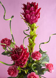 Decoration artificial flower Stock Photos