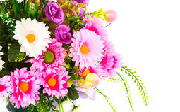Decoration artificial flower Royalty Free Stock Images