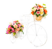 Decoration artificial flower Stock Image