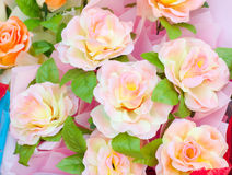 Decoration artificial flowers Stock Image