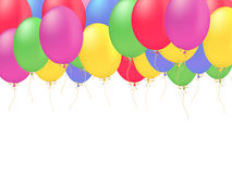 Decoration balloons vector Royalty Free Stock Photos