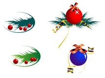 Decoration balls Stock Photography