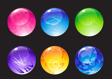 Decoration balls Stock Photo