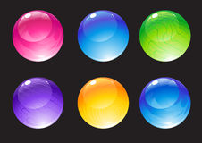 Decoration balls Royalty Free Stock Photo