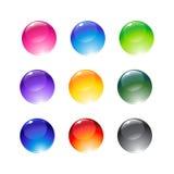 Decoration balls Stock Images