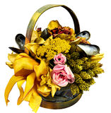 Decoration basket Stock Photography