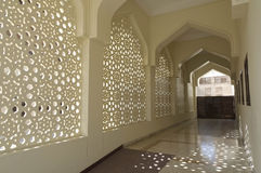 Decoration of Bastakiya Mosque in Dubai Stock Photography