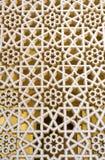 Decoration of Bastakiya Mosque in Dubai, UAE Stock Image