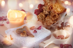 Decoration for beauty and wellness Royalty Free Stock Image