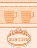 Decoration for bistro Stock Images