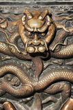 Decoration of a bronze object of a Taoist temple, Beijing, China Stock Images