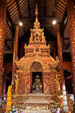 Decoration of Buddhist church, Thailand Royalty Free Stock Photo