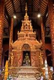 Decoration of Buddhist church, Thailand Royalty Free Stock Photo