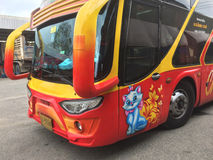 Decoration on the bus in Thailand Stock Images