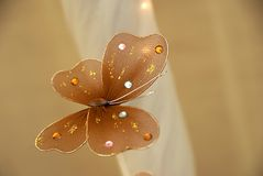 Decoration butterfly Stock Image