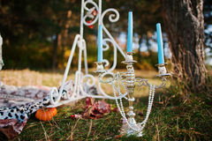 Decoration candlestick Stock Photography