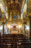 Decoration of Capella Palantina in Palermo city Stock Photos