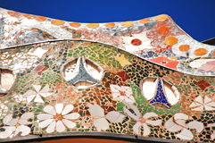Decoration on casa battlo Royalty Free Stock Photos
