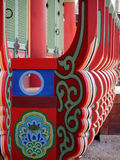 Decoration of Changgyeonggung palace, South Korea. Royalty Free Stock Images