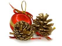 Decoration on Christmas royalty free stock image
