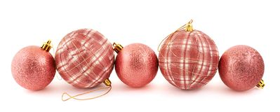 Decoration christmas ball composition Stock Photo