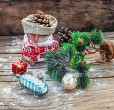 Decoration for Christmas holiday Stock Photo