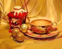 Decoration for Christmas and New Year. Royalty Free Stock Photography